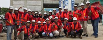 Mahasiswa Teknik Sipil FST UNISNU Jepara Laksanakan KKL di Proyek Apartemen Mahatta Tanjung Barat